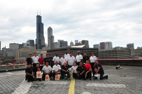 2013-08-14, CFD Welcomes firefighters from Mexico