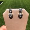.85ctw Antique Table Cut Diamond Double Drop Earrings 15