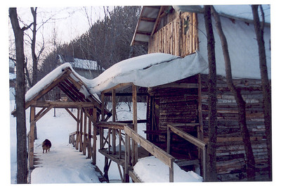 Terrain l'hiver par Tommy Poirie-Morissette