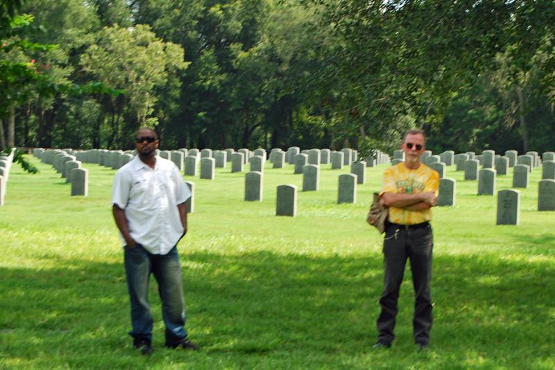 Christian and John at Florida National Cemetery.jpg