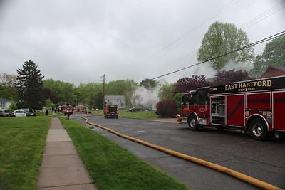 Dwelling Fire - Bancroft Rd, East Hartford, CT - 5/12/19