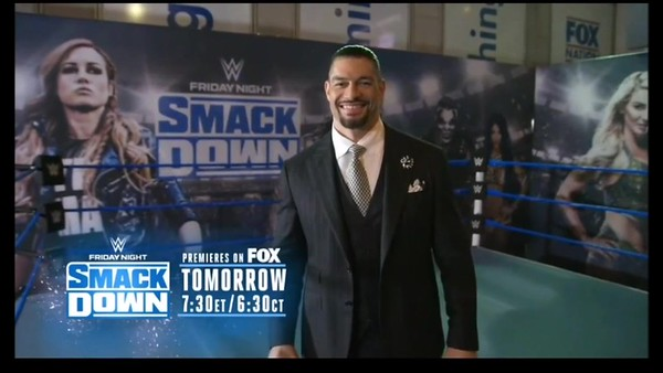 Roman Reigns - Screencaps / Fox NFL Thursday