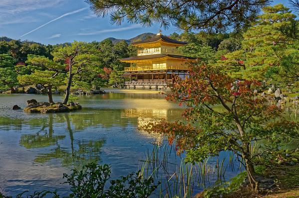 Kinkaku-ji Temple, The Golden Pavilion, Kyoto