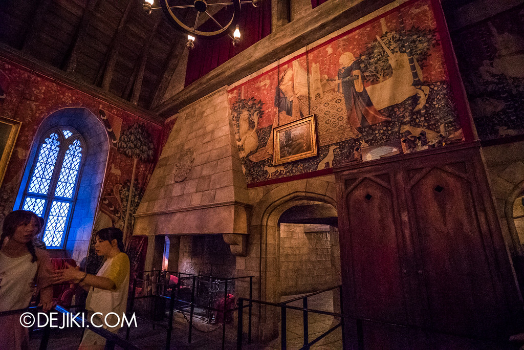 Universal Studios Japan - Harry Potter and the Forbidden Journey / Hogwarts Castle Walk Tour - Gryffindor Common Room 2