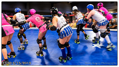 TXRD Holy Rollers vs Hellcats 6/15/2013
