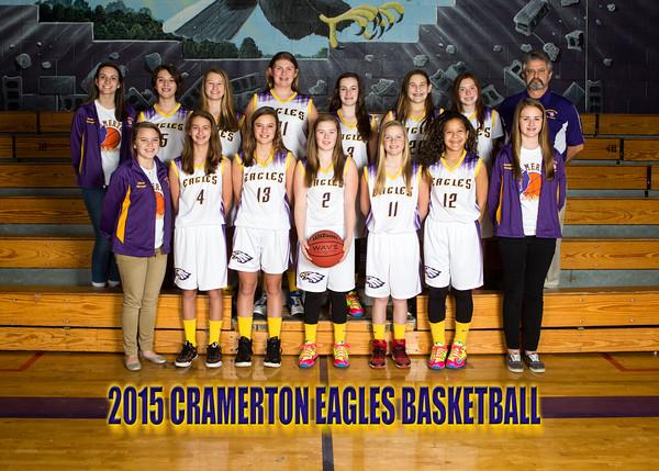 2015 Cramerton Girls Team Photos