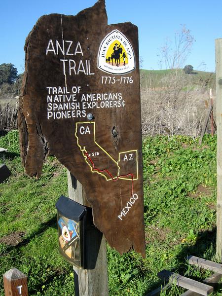 de Anza Trail 1/18/2011