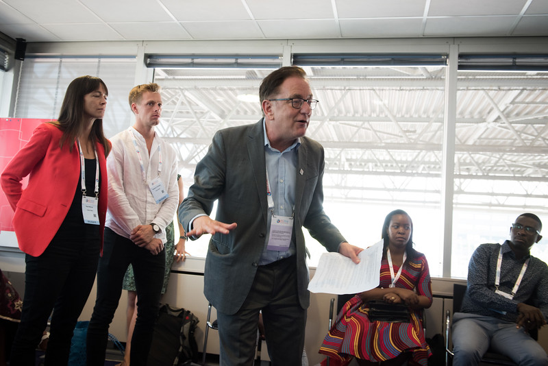 22nd International AIDS Conference (AIDS 2018) Amsterdam, Netherlands   Copyright: Marcus Rose/IAS  Photo shows: Nobody left behind high level meeting.