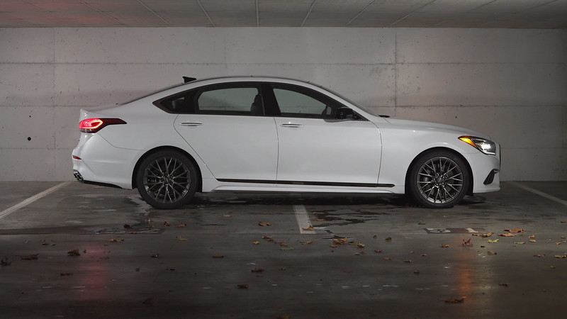 2018 Genesis G80 AWD Parked Reel