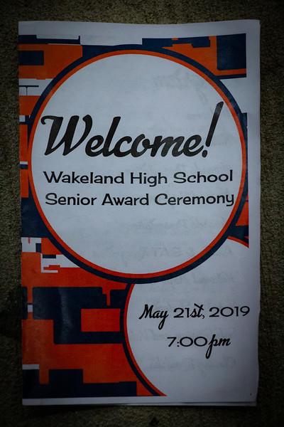 Wakeland Senior Awards Night