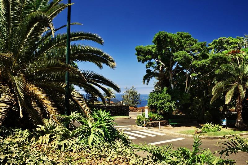 Pohled z parku Taoro směrem k moři