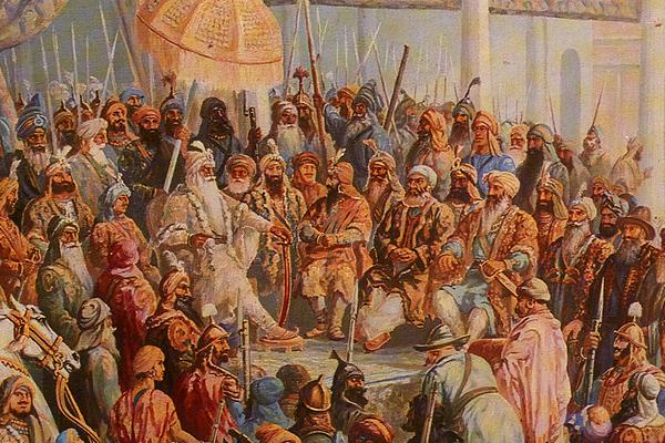 Painting of Maharaja Ranjit Singh