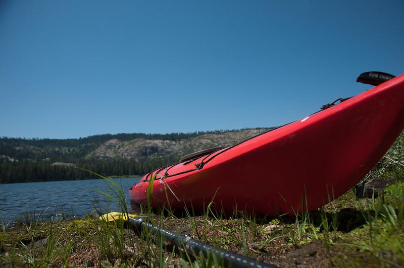 kayaking and XC skiing