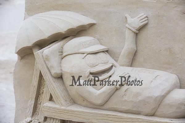 2020-9-9 Hampton Beach Sand Sculptures