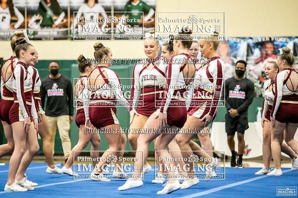 Pelion Varsity cheer-Silverfox Invitational