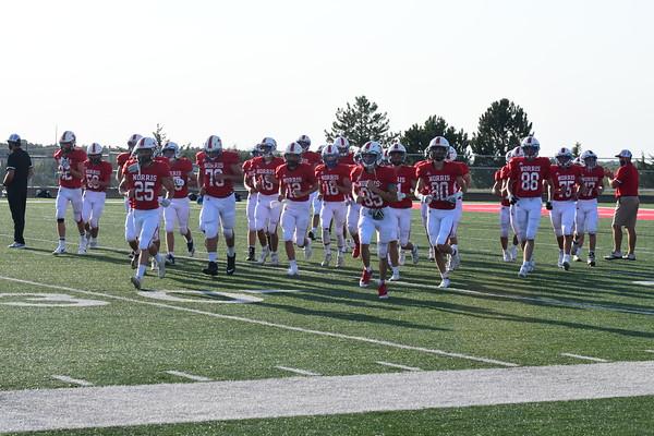 Junior Varsity Football vs Bennington
