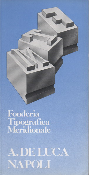 Catalogue of the De Luca Foundry in Naples. 1970s.