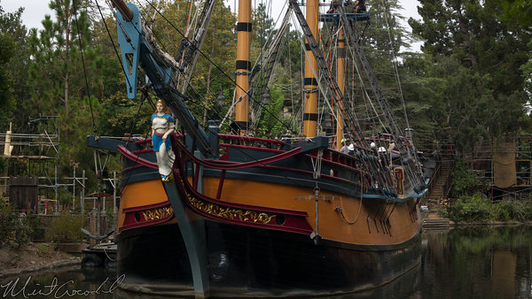 Disneyland Resort, Disneyland, Frontierland, Sailing Ship Columbia, Columbia