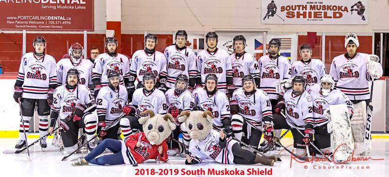 2018-2019 South Muskoka Shield Team Photos