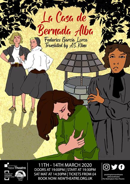 La Casa de Bernarda Alba poster