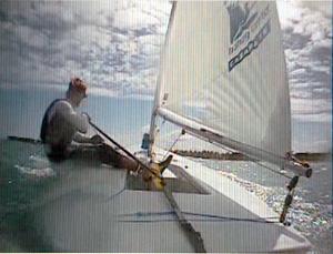 Laser Boat Handling DVD, stern view