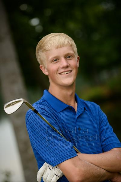 Zach's Golf Themed Session