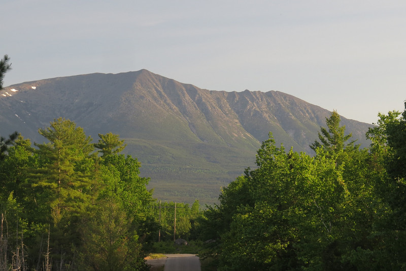 Little bump on left is Baxter Peak, then South Peak and Pamola.JPG