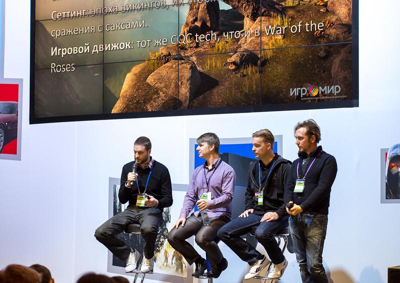 Developers at Igromir 2013