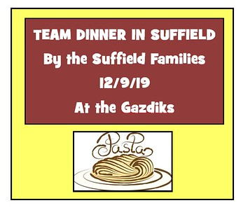 2019_12_09 Wildcats Team Dinner in Suffield