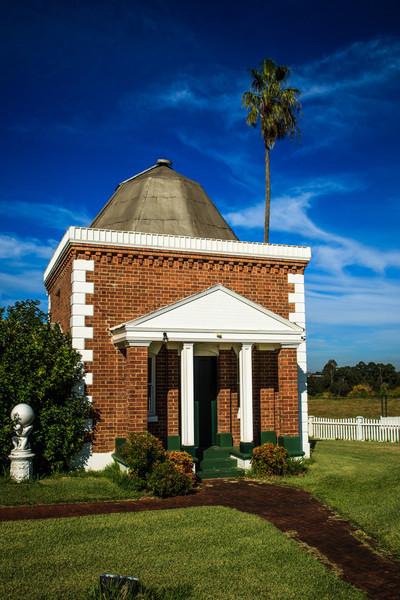 John Tebbutt's Observatory, Windsor, Australia Built around 1845.