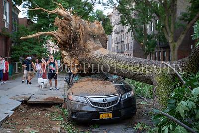 Tropical Storm Isaias Astoria Damage
