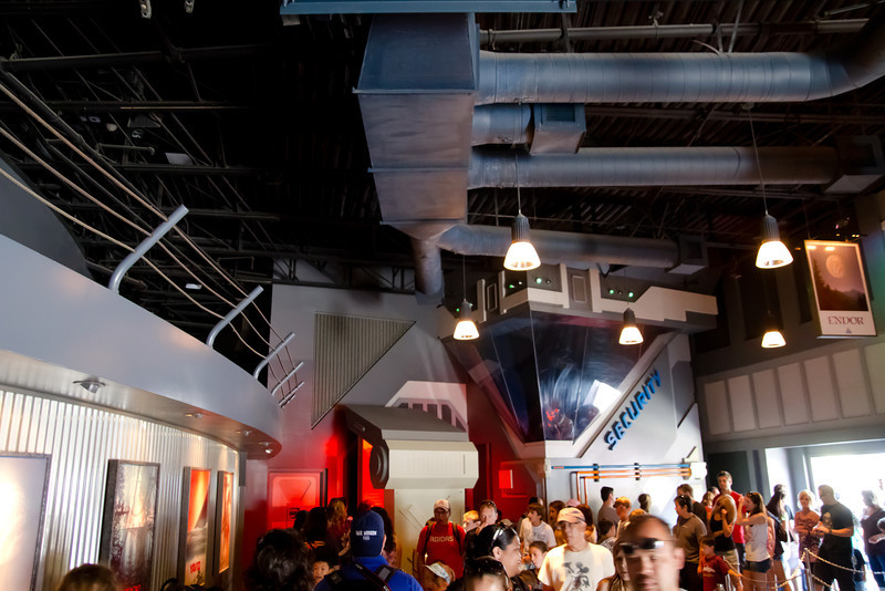 Star Tours Secondary Waiting Room
