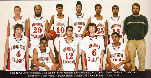 2008 Senior Basketball