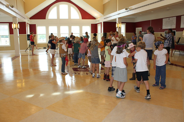 End-of-Year 2nd Grade Line Dancing Party