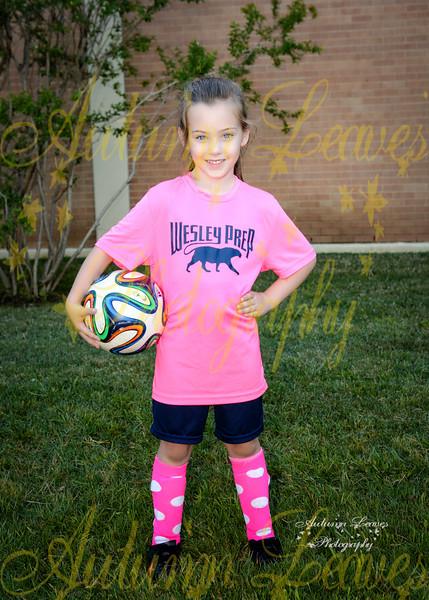 KG Pink Panthers - TNYMCA Soccer Spring 2016