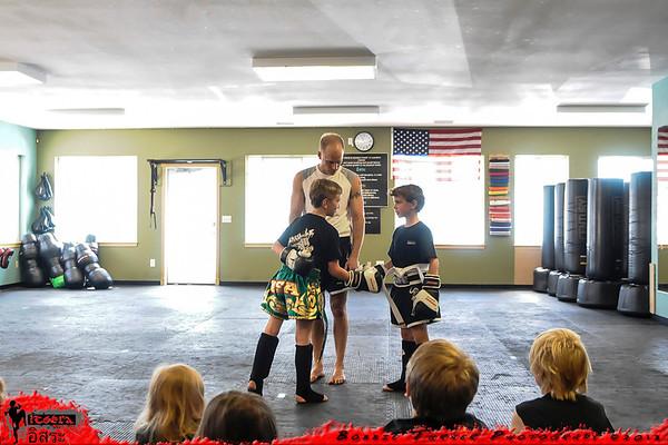 Juniors - Belt Testing 5/25/13