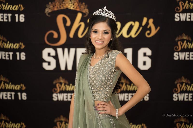 Shrina's Sweet 16