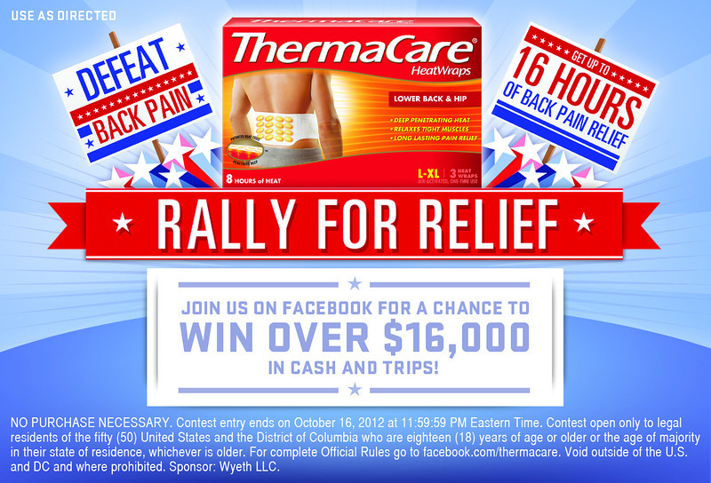 Playing tennis or golfing on your next boomer trip? Don't forget the ThermaCare HeatWraps.