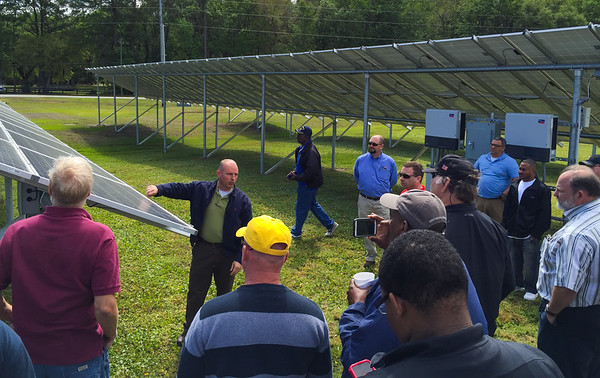 2016 Savannah Tech Field Trip to Cooperative Solar