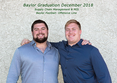 Baylor Graduation 2018 Blake and Patrick