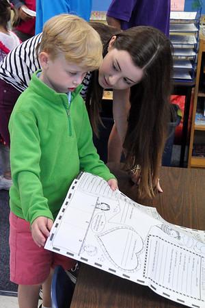 Kindergarten and Eighth Grade Buddies