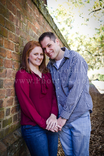 Danielle + Ben: Colonial Williamsburg Engagement Photography