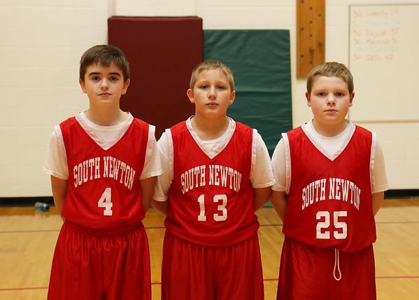 SNMS Boys Basketball Team 2015