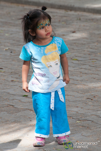 Young Mexican Girl - Tlacolula