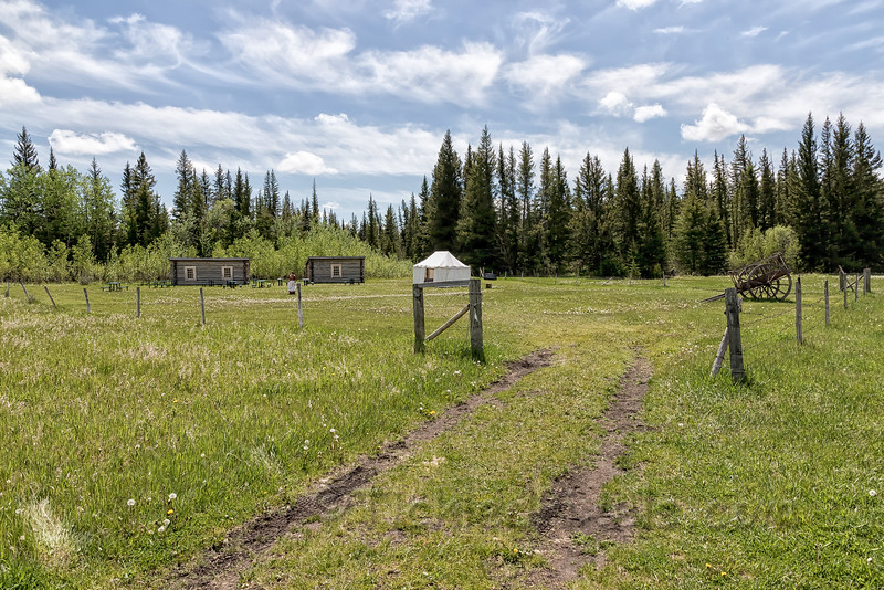 The Trading Post and Metis Cabin
