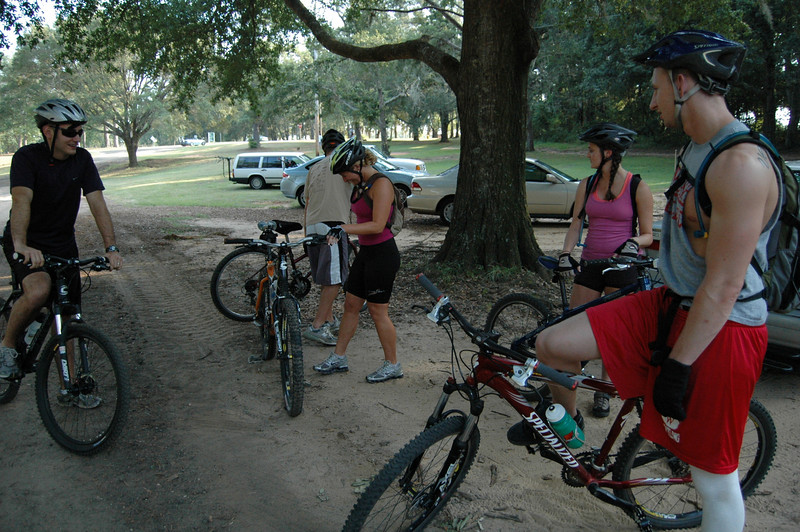Last of the photos before we headed into Magnolia Trail.