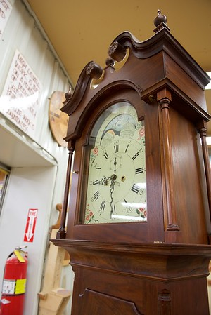 Shenandoah Valley Tall Case Grandfather Clock with Headley &  Hamilton