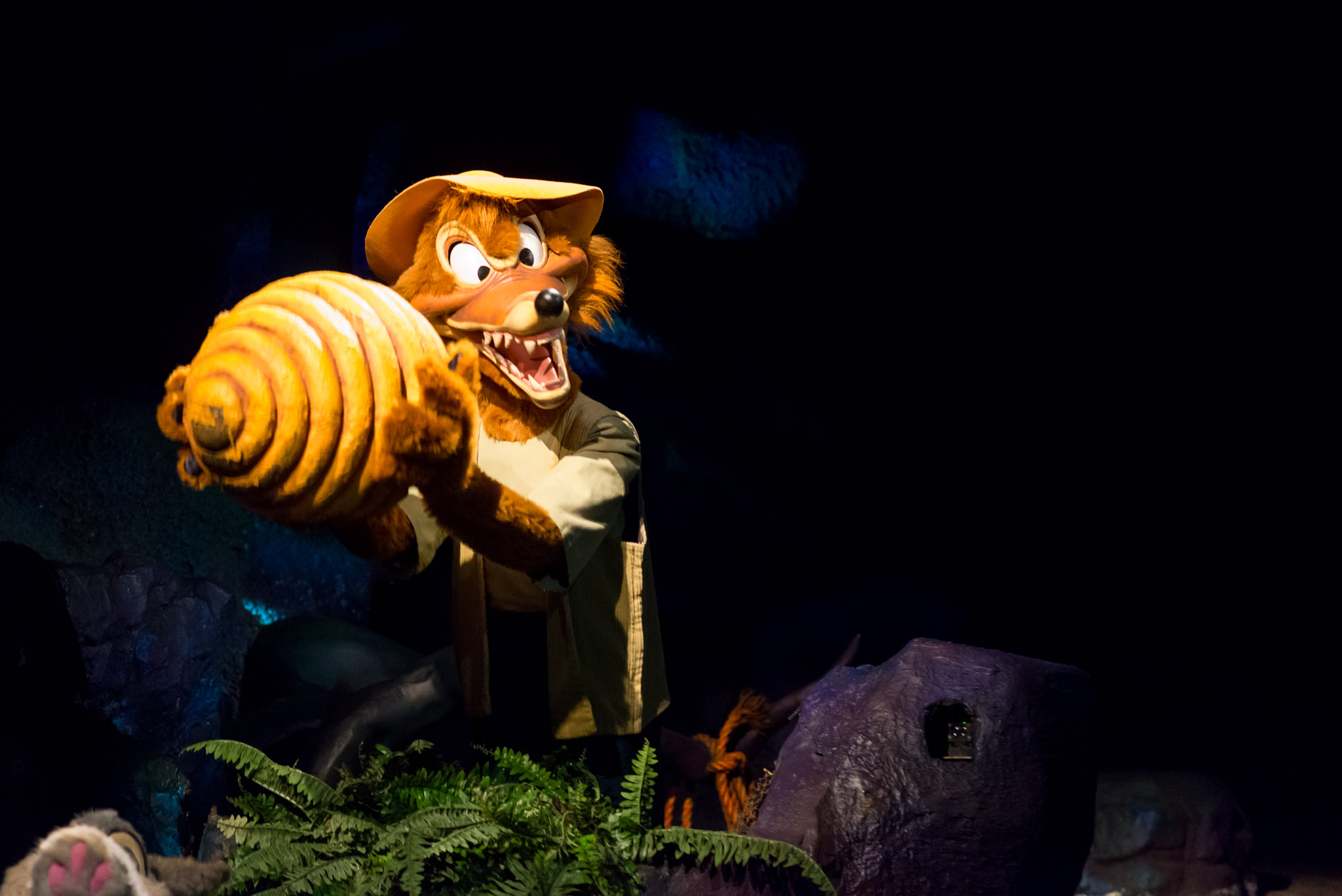 Brer FOX - Walt Disney World Magic Kingdom