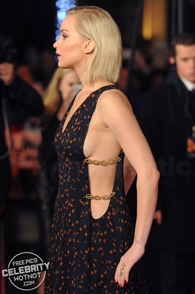 Jennifer Lawrence Turns Heads In Dior Polkadot Gown!