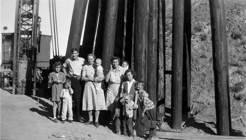 Ralph Family at Garrison Dam